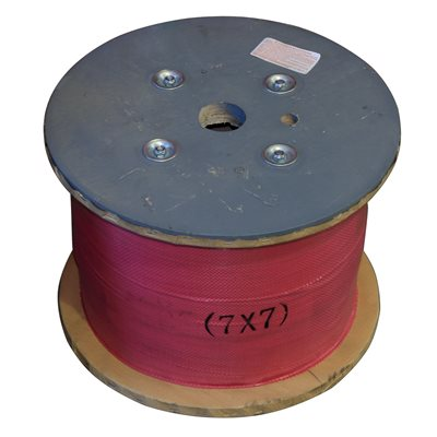 1 / 8 X 5000 FT, 7X7 Galvanized Aircraft Cable