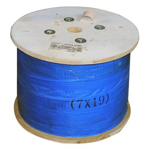 1 / 8 X 2500 FT, 7X7 Galvanized Aircraft Cable
