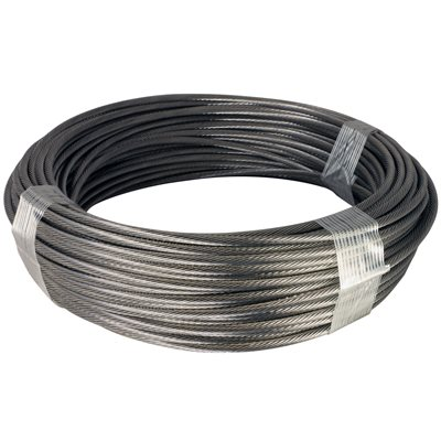 Airplane Cable Wire | 1 8 X 100 Ft 1x19 Stainless Steel Aircraft Cable