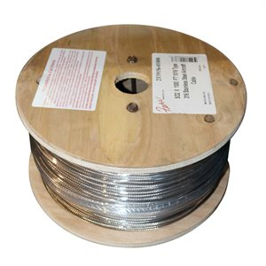 1 / 8  X 1000  FT 1X19 Type 316 Stainless Steel Aircraft Cable