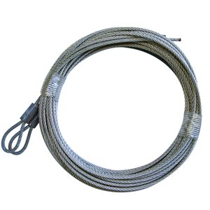 3 / 32 X 164 7X7 GAC Garage Door Plain Loop Extension Lift Cables