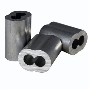 1 / 16 X 100 Pcs Aluminum Sleeves