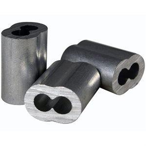 3 / 32 X 100 Pcs Aluminum Sleeves