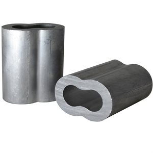 5 / 16 X 100 Pcs Aluminum Sleeves
