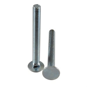 1 / 4-20 X 2-1 / 2 Flat Head Carriage Bolt X 1000 Pcs