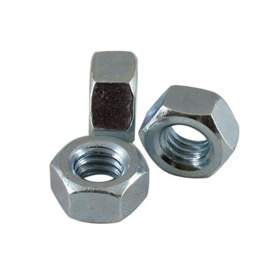 5 / 16-18 Finished Hex Nut Zinc Plated, 1 / 2 Across Flats X 6000 Pcs