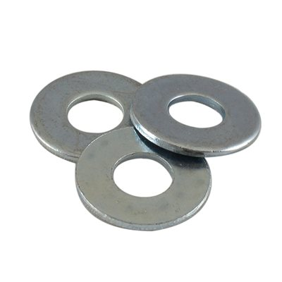 5 / 16 USS Flat Washer Zinc Plated X 1000 Pcs