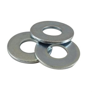 3 / 8 USS Flat Washer Zinc Plated X 1000 Pcs