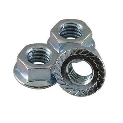 3 8 16 Serrated Flange Nuts 9 16 Across Flats X 1000 Pcs