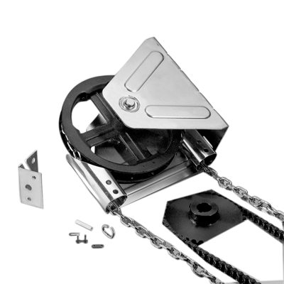 Chain Hoist - Wall Mount (4006V) 4:1 Reduced Drive