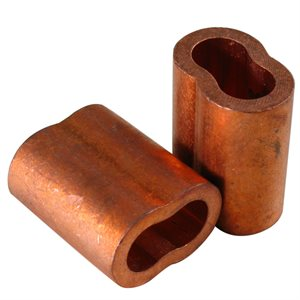 3 / 8 X 100 Pcs Copper Sleeves (12)