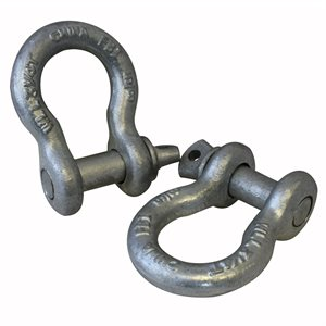 5 / 8 Load Rated Screw Pin Anchor Shackle