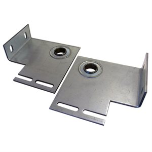 "End Plate - Flanged with 1"" Bearing, 8 Gauge with 4-3 / 8"" Offset (L / R-PR)"
