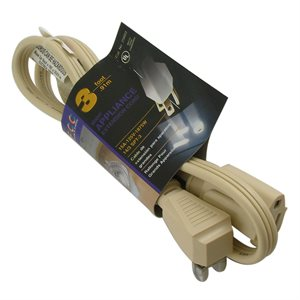 14-3 X 3 FT UL Extension Cord (540) X 36 Pcs