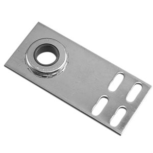 "End Plate - Flat with 1"" Bearing, 8 Gauge X 6-5 / 8 X 24 Pcs"