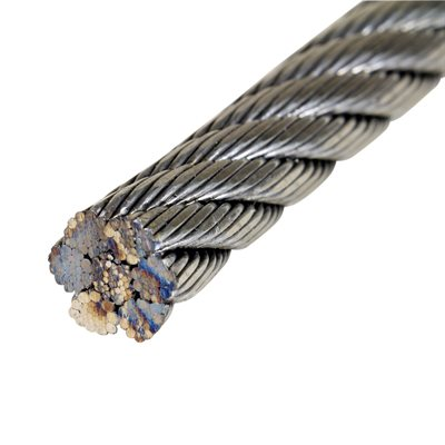 1 / 2 X 5000 FT 6X26 Swaged IWRC EIPS RRL Galvanized Wire Rope