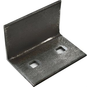 L-Shaped Mounting Bracket (2 X 3) with Two 7 / 16 Square Holes
