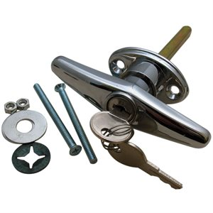 Locking T-Handle with Hardware (411-3) Random Keyed