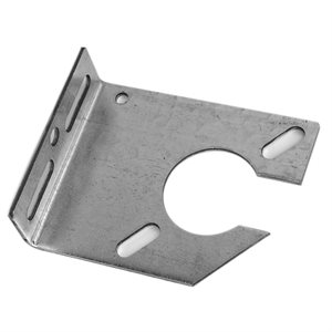 "Notched Spring Anchor Plate, 11 Gauge with 3-3 / 8"" Offset X 24 Pcs"