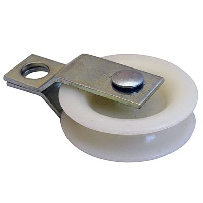 1-7 / 8 Split Bracket Nylon Pulley X 200 Pcs
