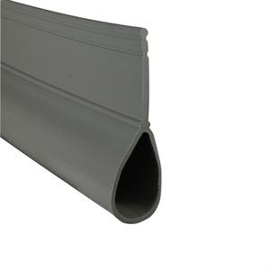 Rolling Steel Bulb Seal - Gray X 150 FT
