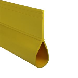 Rolling Steel Bulb Seal - Yellow X 150 FT