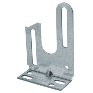 Residential Universal Anchor Plate,12 Gauge (Mini) X 50 Pcs