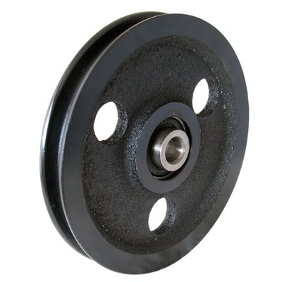 4  Cast Iron Sheave Pulley X 30 Pcs