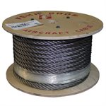 1 / 2 X 500 FT 6X19 IWRC Stainless Steel Wire Rope