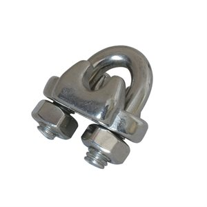 3 / 16 Type 316 Stainless Steel Wire Rope Clip