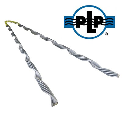 1 / 4 Galvanized  PLP Tree-Grip Dead Ends (Yellow)