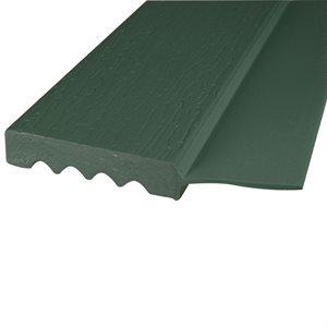 "H.Green (P501), #2213-Side Flap , 9 FT x 2"", Vinyl Stop"