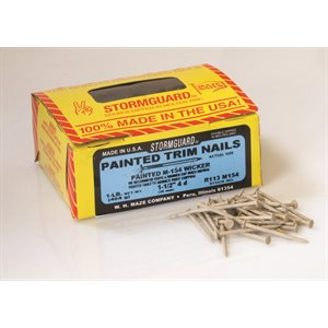 "Wicker Maze 1-1 / 2"" SmoothTrim Nail-1 Lb Ctn"